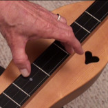 Left hand fingerpricking